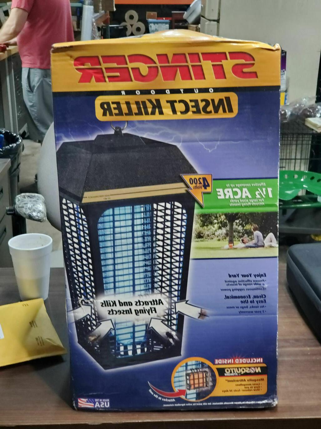 outdoor electric insect killer bug zapper 1