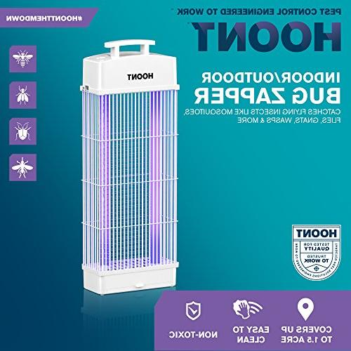 Hoont Standing Indoor Outdoor Fly Zapper Bug Zapper Protects / Bug and Killer –For & Commercial