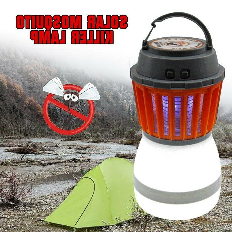 rechargable mosquito insect kill pest control light
