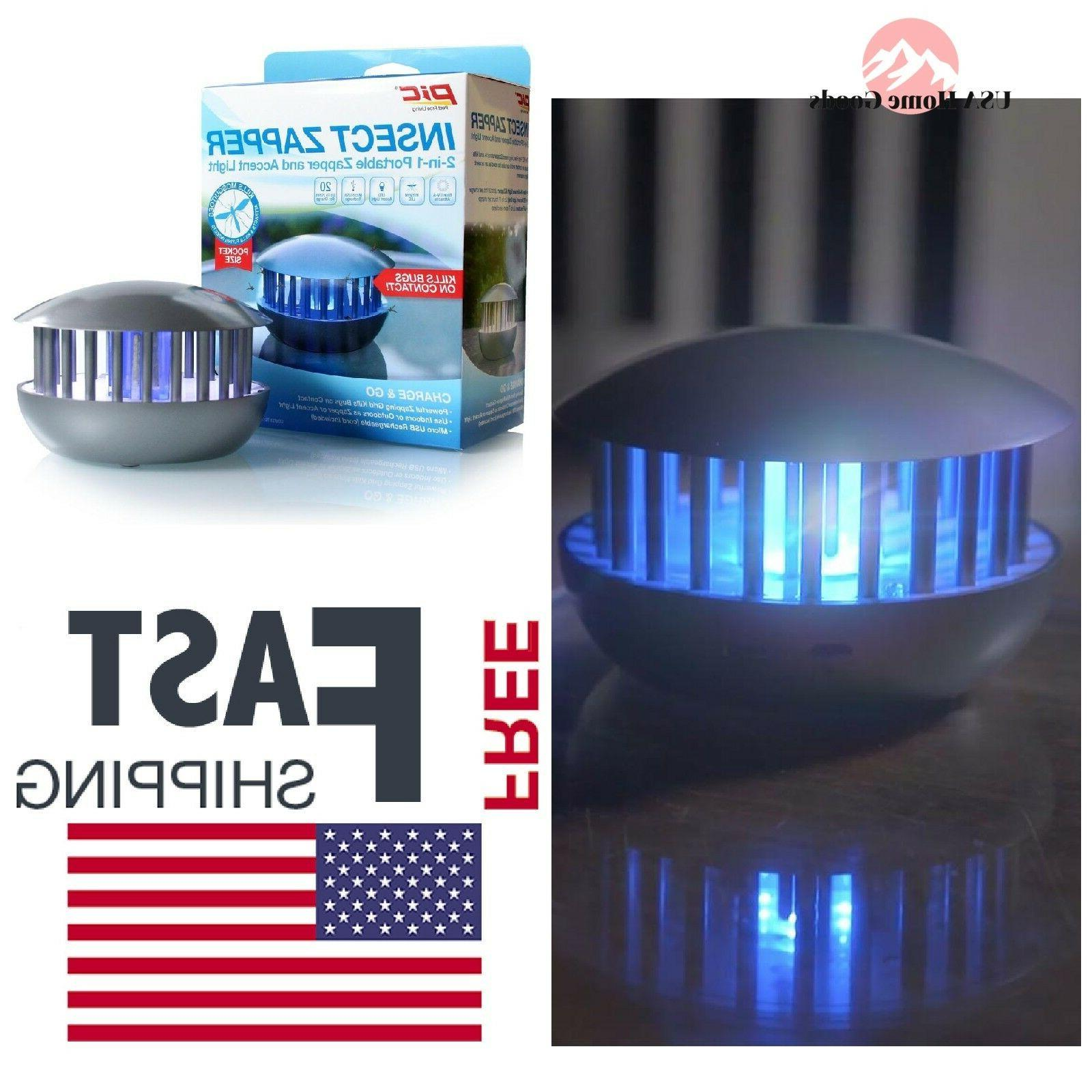 rechargeable 1 portable insect zapper