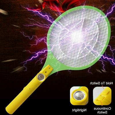 Rechargeable Battery Mosquito Killer Zapper Fly Swatter
