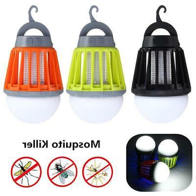 rechargeable outdoor camping mosquito zapper lantern bug