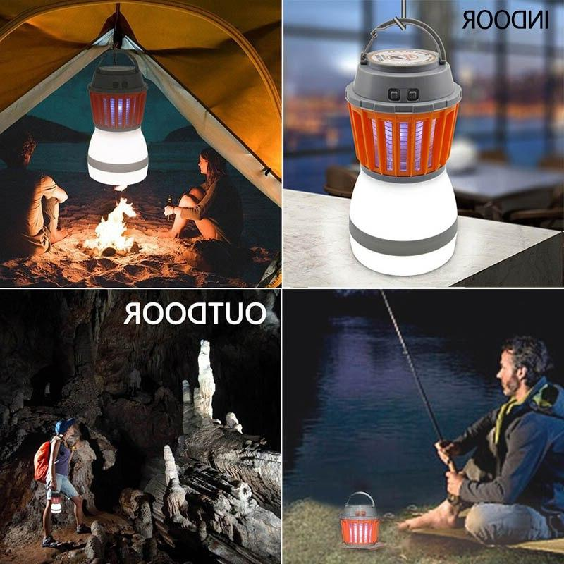 Solar Mosquito Outdoor <font><b>Bug</b></font> Camping Insect Killer Light