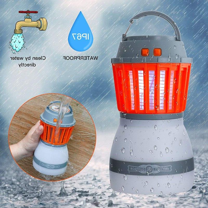 Solar Killer Lamp Outdoor <font><b>Bug</b></font> Camping USB Anti Mosquito Fly Insect