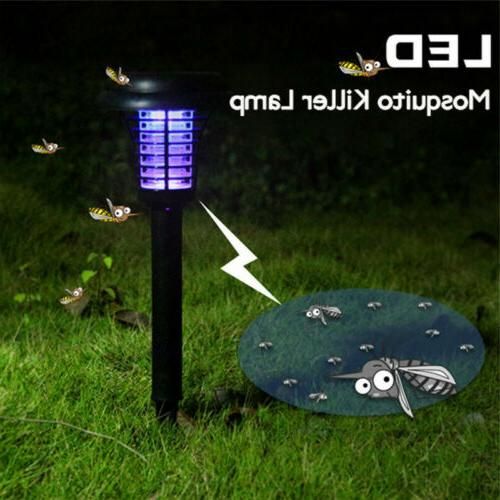 solar powered outdoor mosquito fly bug insect
