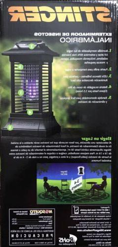Stinger Cordless Rechargable Insect Zapper,