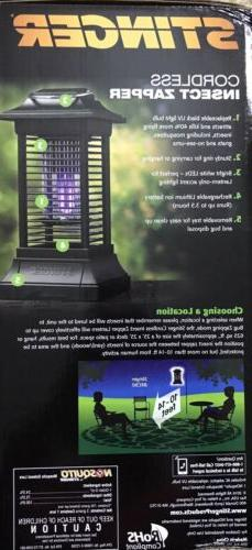 Stinger Rechargable Insect Zapper, New