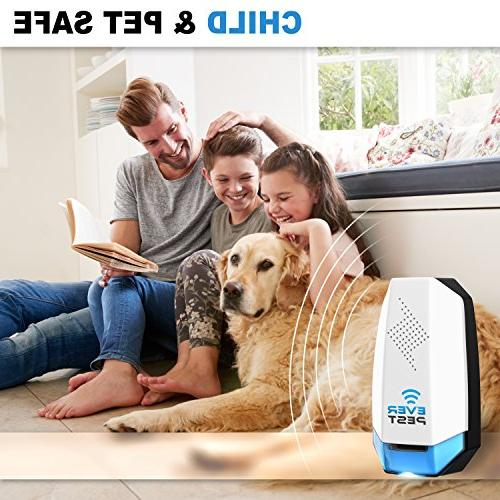 Ultrasonic Mosquito Repellent Plug - Professional Home - Repels Bugs, Insect,