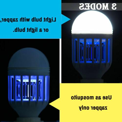 US 3Pack Mosquitoes Fly Bug Indoor 15W LED Bulb