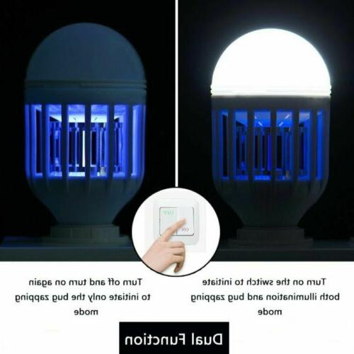 US Bug Light Bulb Fly Trap Killer Indoor Insect
