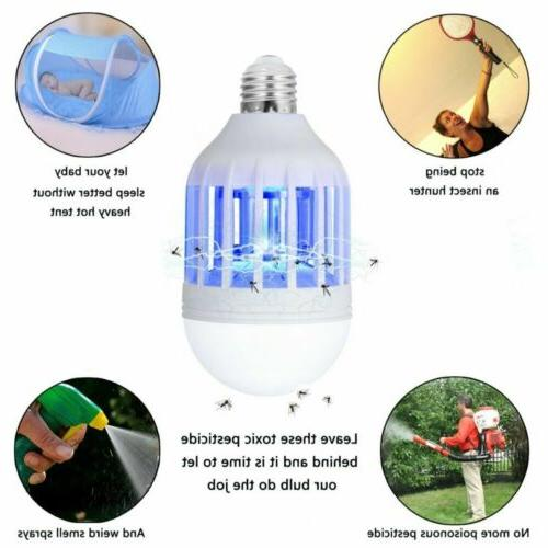 US Zapper Bulb Mosquito Trap Indoor Insect