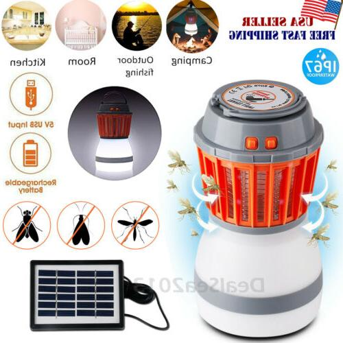 uv solar led electric fly insect bug