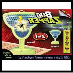 ONE SHOT LED BUG ZAPPER 2 in 1 Table top or Hanging. New In