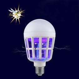 LED Bulb E27 Anti-Mosquito Insect Zapper Fly Bug Moth Killer