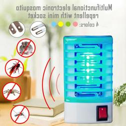 LED Electric Mosquito Fly Bug Insect Trap Zapper Killer Nigh