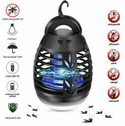 LED Electric Mosquito Zapper Killer Lamp Insect Bug Trap Pes
