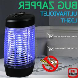 Led Indoor Electric Mosquito Fly Insect Bug Zapper Killer Tr