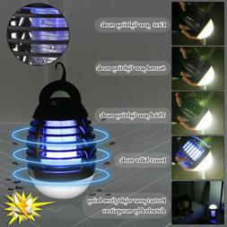 LED Mosquito Lamp Outdoor Waterproof Hanging Insect Bug Pest