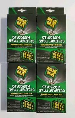 LOT OF 4  Black Flag Mosquito Octenol Lure Refill Fits Most