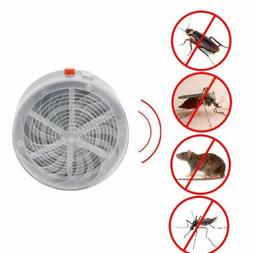 Mosquito Bug Zapper Flying Insects Moth Killer Solar UV Car