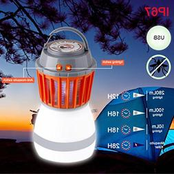 AutumnFall Mosquito Killer, 220V UV LED Electric Fly Insect
