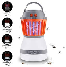 Fly Partner Mosquito Killer Camping Lamp, 2 in 1 Electronic
