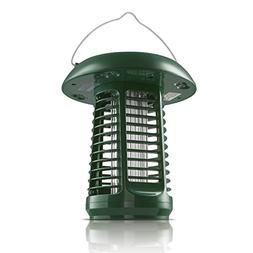 NK63 Solar-Powered UV Bug Zapper, Insect Killer & LED Garden