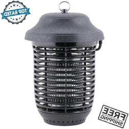 Outdoor Black Plastic Flying Insect Trap Bug Zapper Lantern