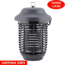 Outdoor Black Plastic Flying Insect Trap Bug Zapper 1 Acre C