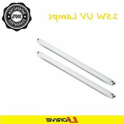 Pack of 2pc 15Watt T8 UV Lamps Bulb Tube Replacement For 30W