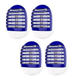 Maxtry 4 Pack Plug in Electronic Insect Killer Mosquito Lure