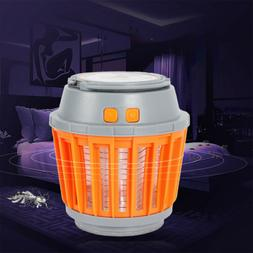 Portable Bug Mosquito Killer LED Camping Tent Lantern Zapper