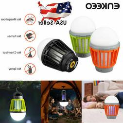 Portable Rechargeable LED UV Camping Lantern Bug Mosquito Za