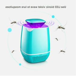 Quiet USB Electric LED Mosquito Killer Lamp Indoor Bug Zappe