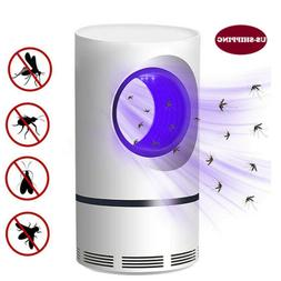Quiet USB Electric Mosquito Killer Insect Zapper Fly Bug Tra