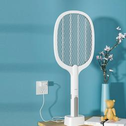 Rechargeable High Voltage Electric Fly Swatter Mosquito Rack