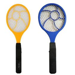 Rechargeable High-voltage Electric Fly Swatter Mosquito Rack