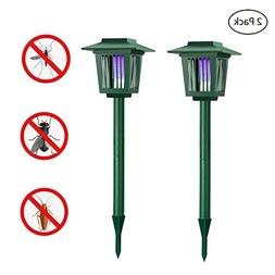 Solar Powered Bug Zapper Light, Solar Mosquito Killer Insec