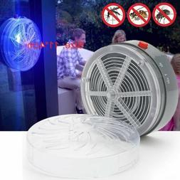 Solar Powered UV Insect Bug Mosquito Killer Zapper Home Kitc