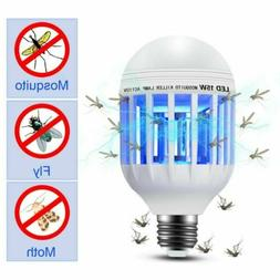 US Bug Zapper Light Bulb Mosquito Lamp Fly Trap Killer Indoo