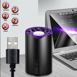 US Electric Zapper Mosquito Killer Indoor USB LED Light Inse
