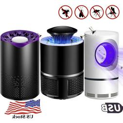 US USB Photocatalyst/Electric Lure Mosquito Killer Lamp Fly