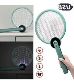 🌟USB Electric Bug Zapper UV Light Racket, Pest Control Fo