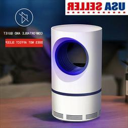 USB Electric LED Home Safe Mosquito Insect Killer Lamp Fly B