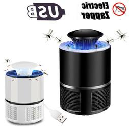 USB Powered 360° Suction Electronic Fly Bug Zapper Mosquito