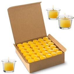 Votive Citronella Candles Scented Indoor Outdoor Use - Mosqu