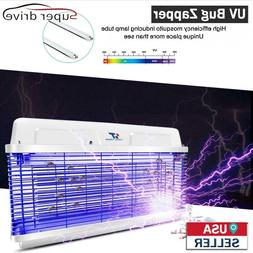 20W UV Light Electric Bug Zapper Insect Killer Pest Control