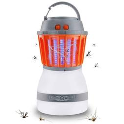 Waterproof Camping Lantern Bug Zapper Mosquito Killer Outdoo