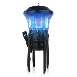 SereneLife Waterproof Patio/Deck Bug Zapper, Electric Pest C