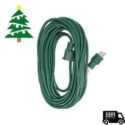 Woods 0393 40 Foot, 16/3, Outdoor Holiday Extension Cord,Gre